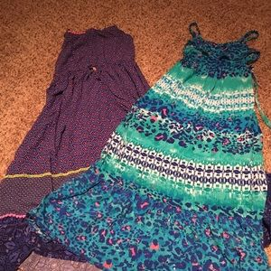 Two spring dresses